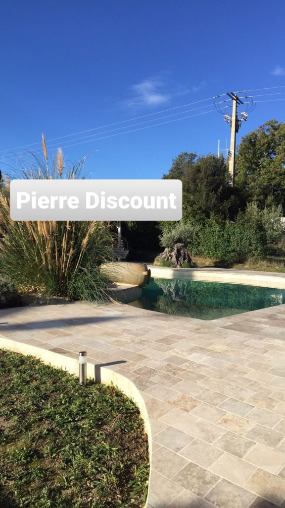 Travertin 20x20 choix commercial piscine cc