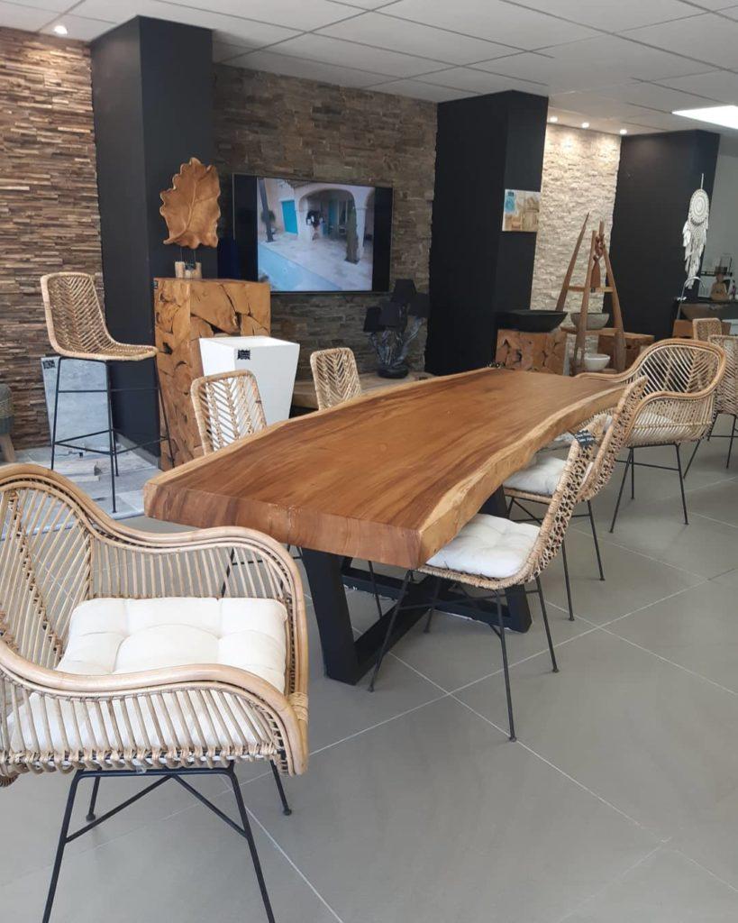 table en suar Chez Pierre Discount